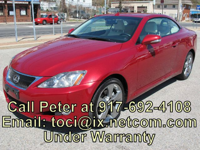 2010 LEXUS IS250C  30000 miles VIN JTHFF2C2XA2511317 30500