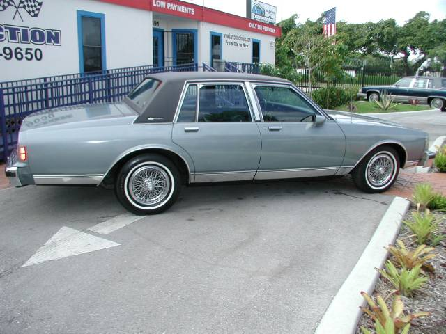 1987 Chevrolet Caprice Classic 11491 Nw 27th Ave Miami