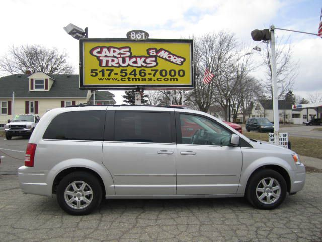 2010 CHRYSLER TOWN  COUNTRY TOURING bright silver 2010 chrysler town  country touring package st