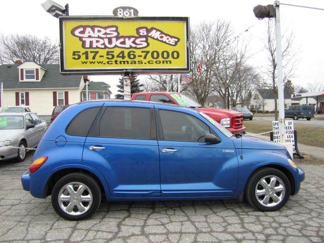 2003 CHRYSLER PT CRUISER LIMITED EDITION electric blue beautiful 2003 chrysler pt cruiser wtih lim