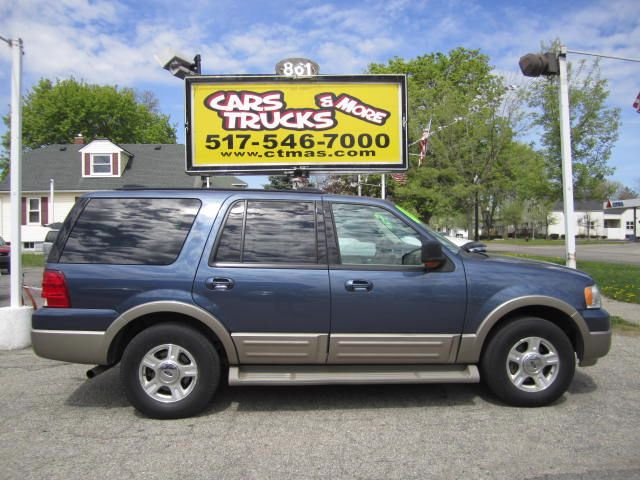 2004 FORD EXPEDITION EDDIE BAUER 54L 4WD blue 2004 ford expedition eddie bauer package full-size
