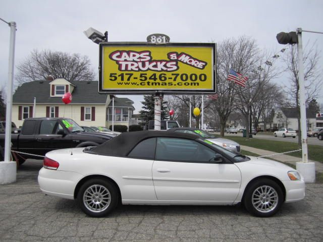 2006 CHRYSLER SEBRING TOURING CONVERTIBLE white gorgeous  2006 chrysler sebring convertible with