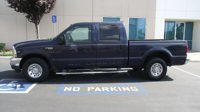 2003 FORD F250 XLT CREW CAB 2WD blue abs brakesair conditioningamfm radioanti-brake system 4-