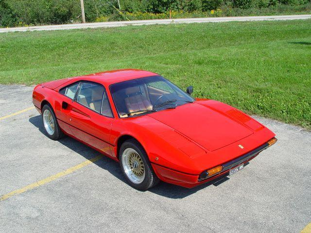 Ferrari 308 like the one driven by Turner and Diem