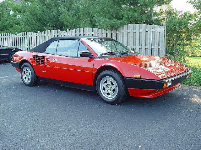 aranes 39 s blog 1984 ferrari mondial cabriolet. Black Bedroom Furniture Sets. Home Design Ideas