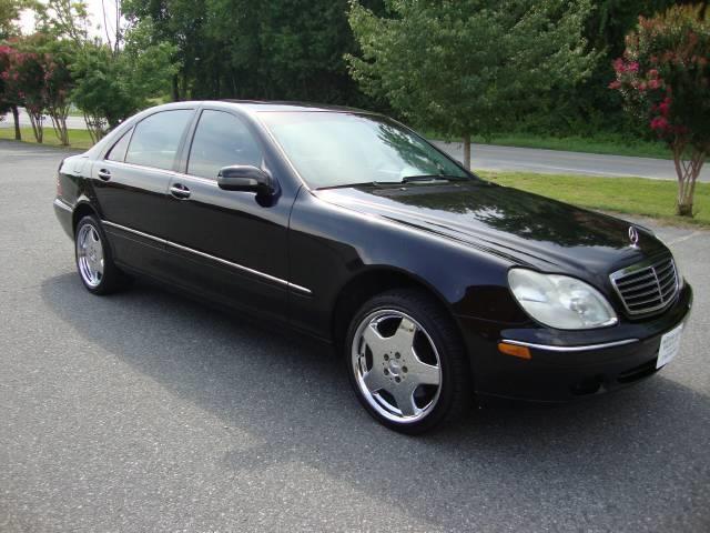2002 Mercedes-Benz S Class