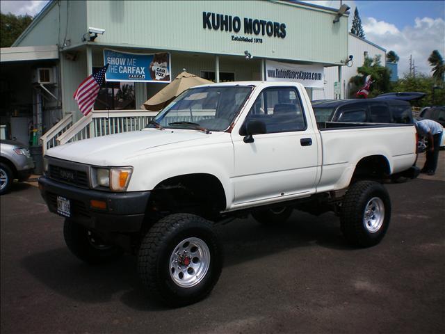 1989 Toyota Pickup 4x4 Kuhio Motors In Kapaa 4995