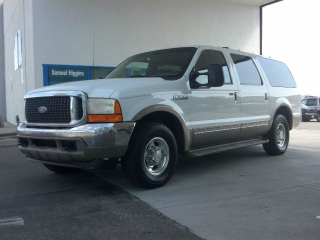 2000 FORD EXCURSION LIMITED 2WD white abs brakesair conditioningalloy wheelsamfm radioanti-br