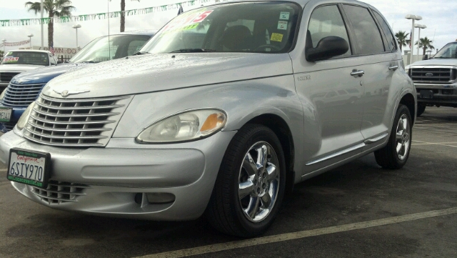 2004 CHRYSLER PT CRUISER TOURING silver 2 wheel drive4 doorair conditioningalarmamfm radioan
