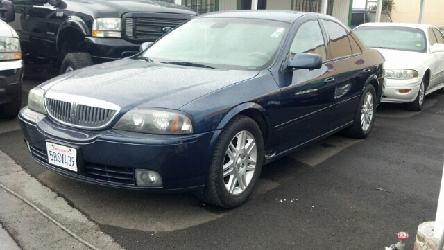 2003 LINCOLN LS V8 midnight blue abs brakesadjustable foot pedalsair conditioningalloy wheelsa