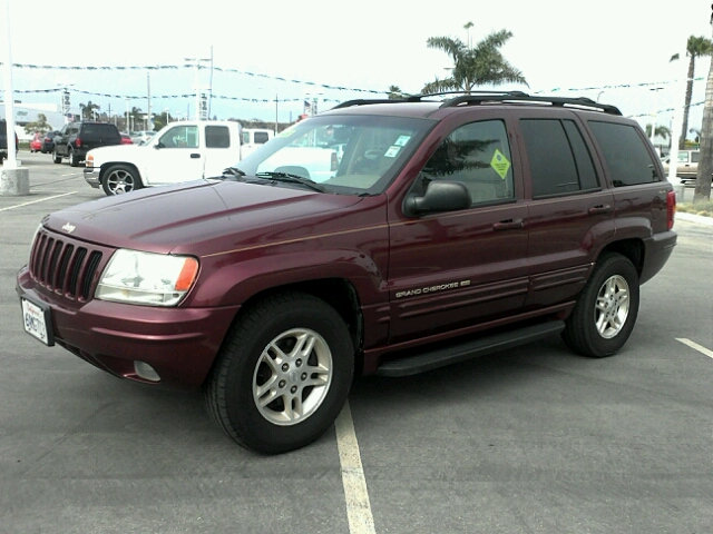1999 JEEP GRAND CHEROKEE LIMITED burgandy 4wdawdabs brakesair conditioningalloy wheelsamfm r