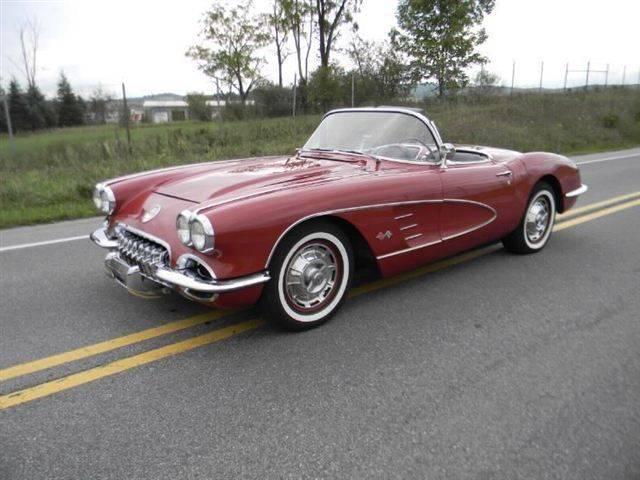 1958 to 1960 corvette for sale. Black Bedroom Furniture Sets. Home Design Ideas