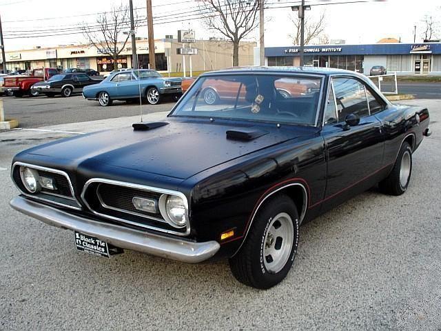 Dudo Kemol 1969 Plymouth Barracuda