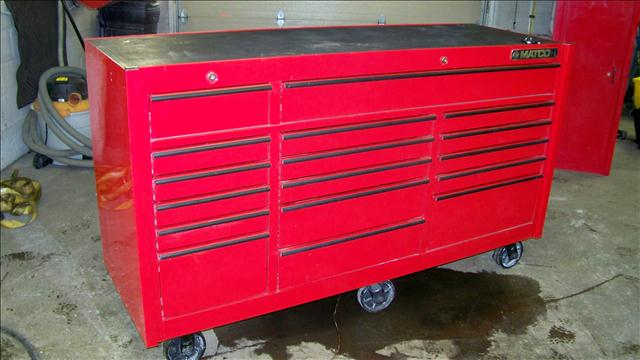 2011 MATCO TOOL BOX for sale