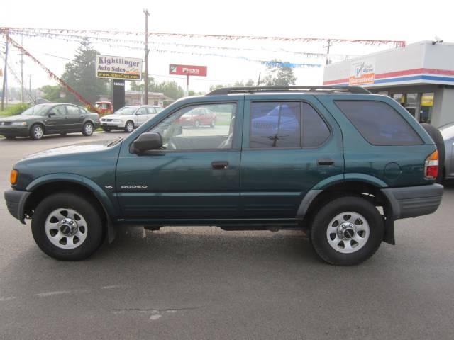 1999 Isuzu Rodeo Ls Green Automatic Meadville Green