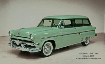 1954 Ford Ranch Wagon Customline - Concord, NC