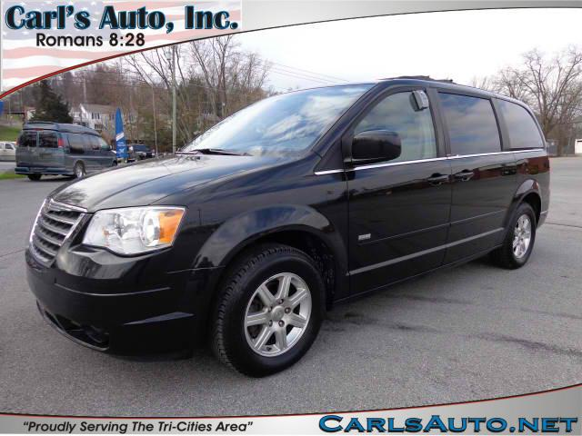 2008 CHRYSLER TOWN  COUNTRY TOURING black here at carls auto inc we strive to bring you the bes