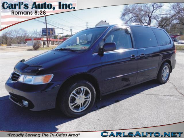 2003 HONDA ODYSSEY EX-L blue power drivers seatheated seatleather upholstery3rd row seatspower