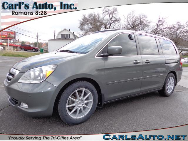 2007 HONDA ODYSSEY TOURING gray here at carls auto inc we strive to bring you the best selection