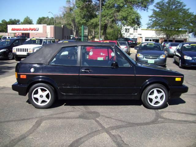 1992 Volkswagen Cabriolet Base 4 Cylinder Black