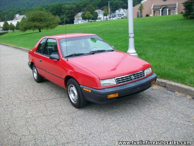 Sundance Used Cars >> 1992 Plymouth Sundance America 2-Door 4-Cylinder Red ...