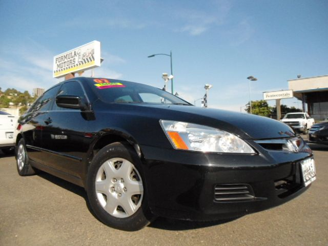 2007 HONDA ACCORD LX SEDAN AT black abs brakesair conditioningamfm radioanti-brake system 4-w
