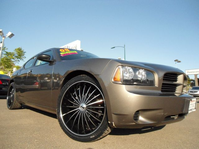 2008 DODGE CHARGER SE 22 WHEELS olive this is a super clean 2008 dodge charger with extra low mile