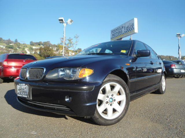 2004 BMW 3 SERIES 325I SEDAN dark blue this is a super clean and affordable bmw 3 series with leat