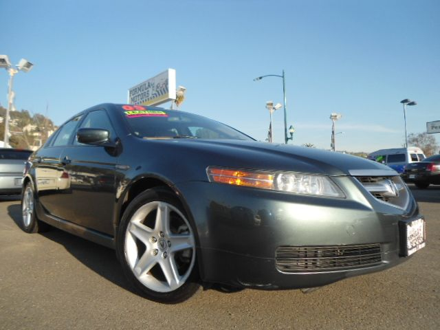 2005 ACURA TL 5-SPEED AT WITH NAVIGATION SYS dark green this is a fully loaded acura 32 tl with a