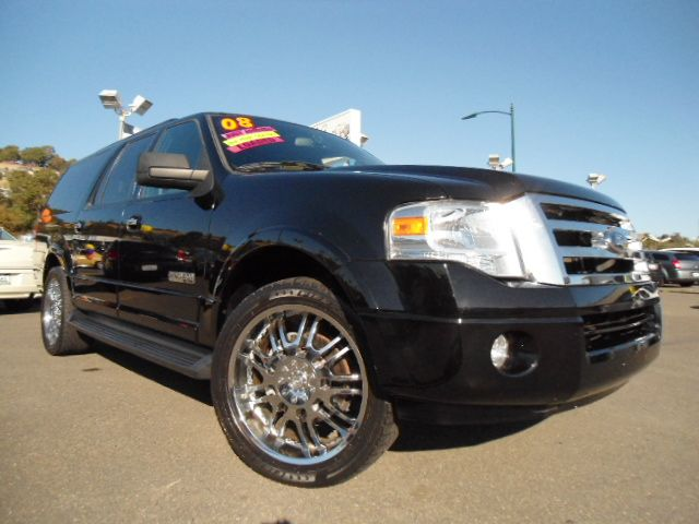 2008 FORD EXPEDITION EL EL XLT 2WD black abs brakesair conditioningalloy wheelsamfm radioanti