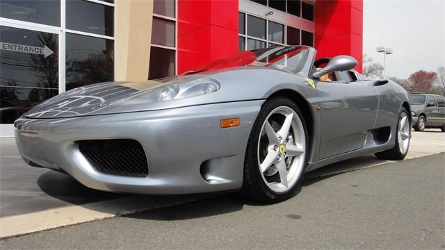2003 Ferrari 360 Spider,