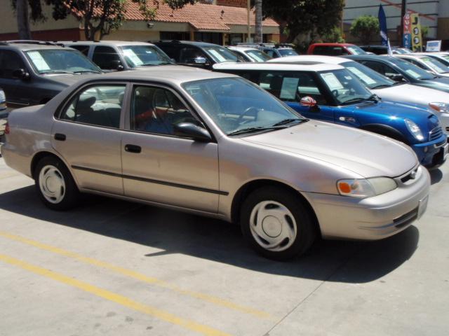 1998 Toyota Corolla CE 5 SPEED MANUAL BEIGE Lakewood  Toyota