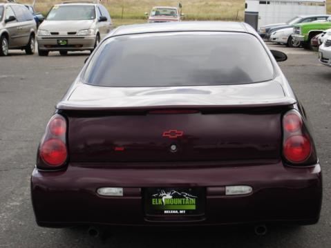 Chevrolet Of Helena >> 2003 Chevrolet Monte Carlo SS 6-Cylinder Maroon ...
