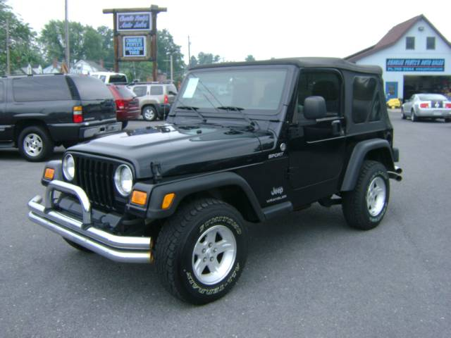 Image 29 of 2005 Jeep Wrangler Sport…