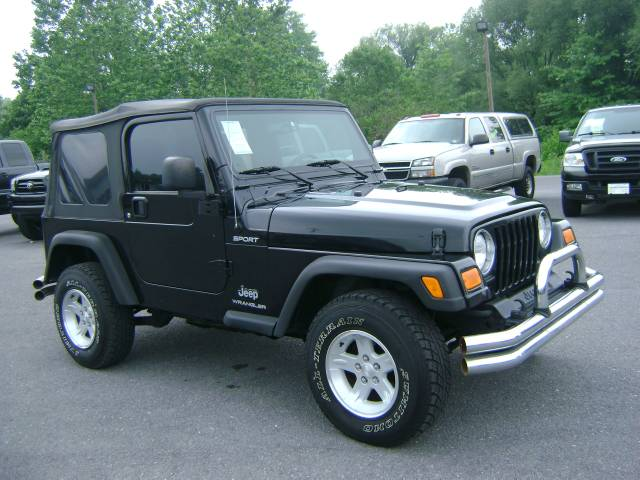 Image 53 of 2005 Jeep Wrangler Sport…