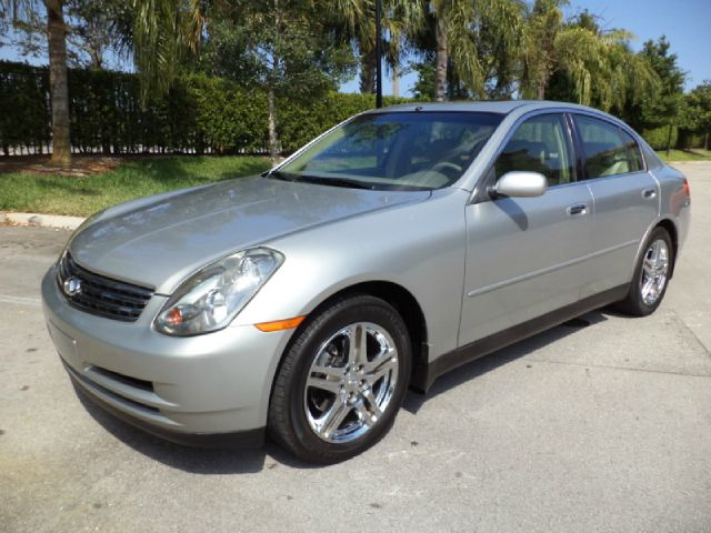 2004 INFINITI G35 SEDAN AWD WITH LEATHER gray metallic all electrical and optional equipment on th