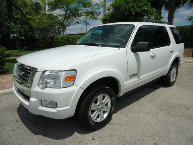2008 FORD EXPLORER XLT 40L 2WD white all electrical and optional equipment on this vehicle have b