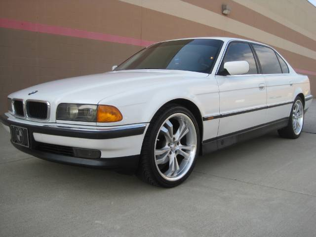 white bmw 740il used cars for sale. Black Bedroom Furniture Sets. Home Design Ideas