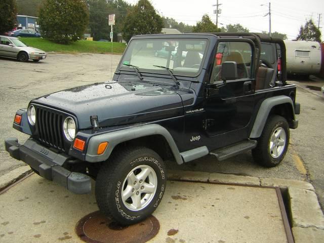 Image 28 of 2000 Jeep Wrangler SE…