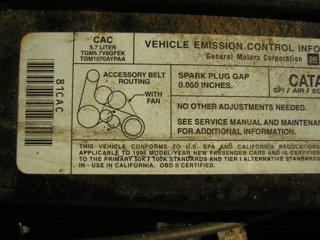 Image 18 of 1996 Chevrolet Impala…