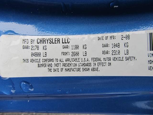 Image 31 of 2008 Chrysler Sebring…