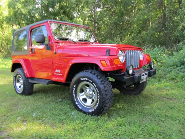 Image 23 of 2003 Jeep Wrangler X…