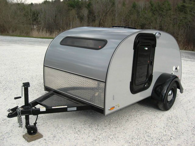 2013 LITTLE GUY TEARDROP CAMPER 5X10 SILVER SHADOW