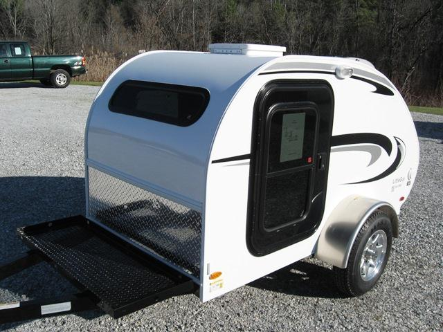 2013 LITTLE GUY TEARDROP CAMPER 4 WIDE PLATFORM