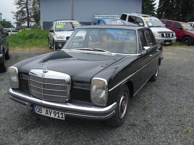 1968 mercedes benz 260 15709 hwy 99 lynnwood wa 98087 for Mercedes benz used cars for sale by owner